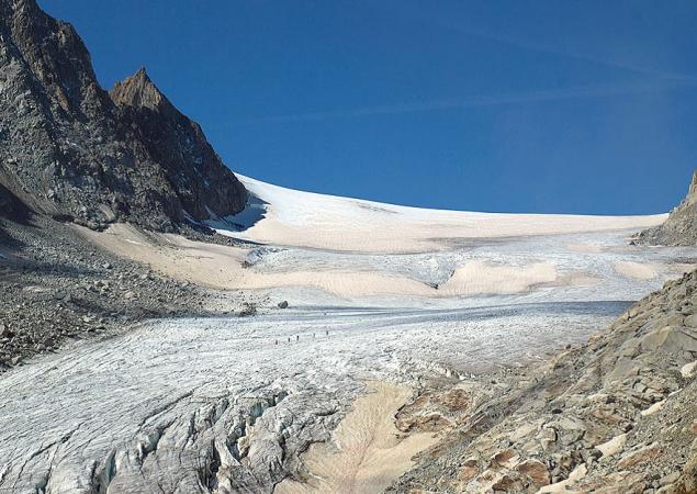 glacier orny